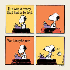 snoopy-maybe-not
