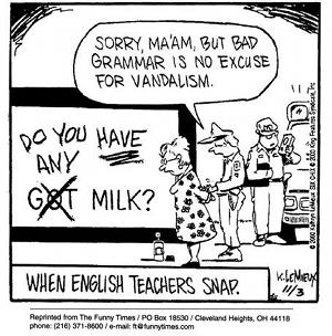 bad grammar vandlism