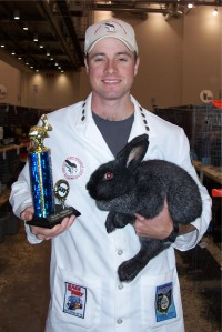 Jeff with Athena & trophy 1